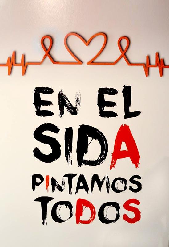 En el SIDA pintamos todos