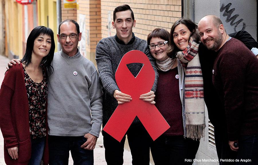 Día del SIDA, equipo de OMSIDA