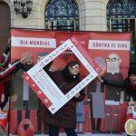 Photocall de Omsida Plaza de España