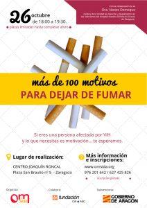 Taller para dejar de fumar