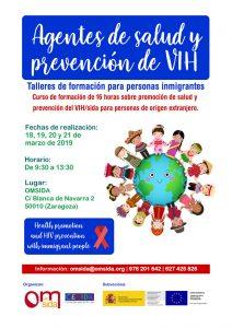 Cartel Curso Agentes de Salud 2019