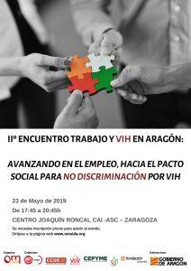 Cartel II Jornada Laboral en Aragón