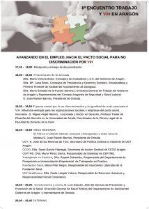 Programa II Jornada Laboral en Aragón