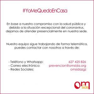 Omsida #YoMeQuedoEnCasa