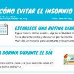 Evitar Insomnio 1