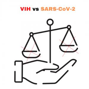 VIH vs SARS-CoV-2