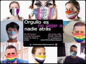 Cartel Orgullo 2020 Zaragoza