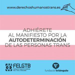 Manifiesto Autodeterminación Trans