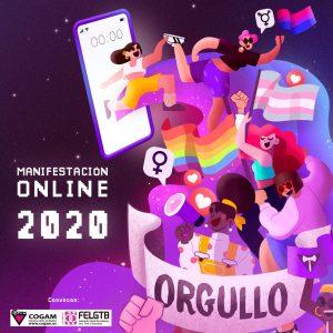 Manifestación Online Orgullo 2020