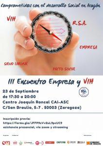 Cartel III Encuentro Empresa y VIH