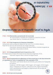 Programa III Encuentro Empresa y VIH