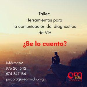 Taller Comunicación Diagnóstico en VIH